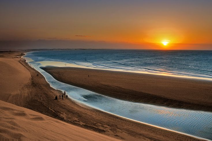 Praia de Jericoacoara - Uma das mais belas do mundo - Ceará - Br