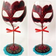 1000 images about wine glasses by quot alena glass quot on pinterest flute