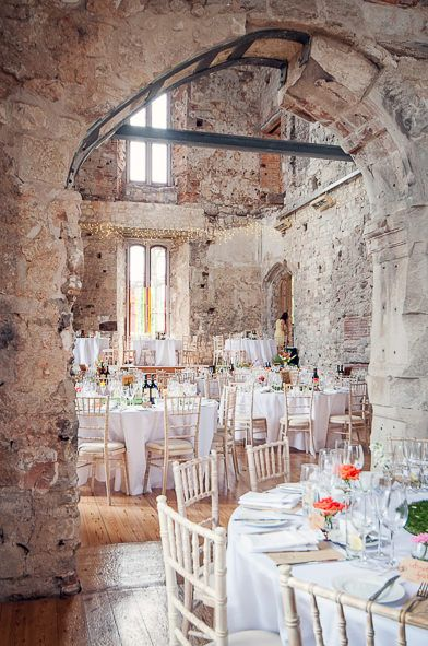 Image by One Thousand Words - Lulworth Castle, Dorset. The spectacular Lulworth castle is the perfect venue to unleash your inner princess | Find out how to budget for this historic wedding venue? | http://www.rockmywedding.co.uk/managing-your-wedding-budget-venues/