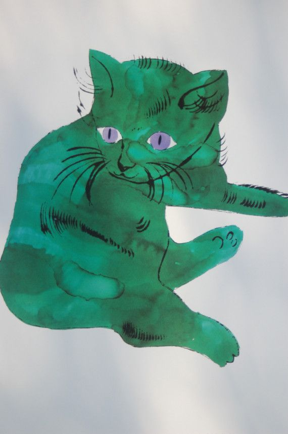 Cats by Andy Warhol Printbook