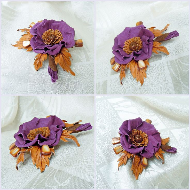 Poopy brooch Suede flowers Leather flower Leather brooch Leather jewelry Suede collection suede flower brooch Gift for her Christmas present by SummerInYourHome on Etsy #LeatherFlowerBrooch #leatherJewelry #floralBrooch #LeatherFlower #handmade #handmadeaccessory #floral #florals #floraldecor #etsyshop #leatherpoppy