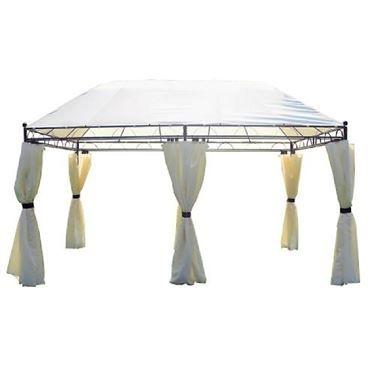 Oltre 25 fantastiche idee su tende da gazebo su pinterest for Leroy merlin gazebo giardino in legno