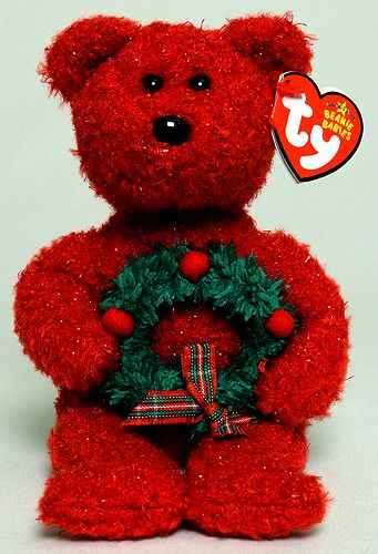 2006. Ty Beanie Babies.  Holiday Teddy (birthday December 25)