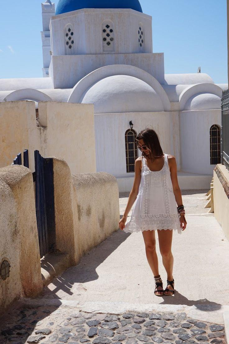 Last day in Santorini - Pyrgos