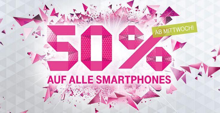 iPhone billiger: iPhone 6 und 6 Plus bei Telekom zum halben Preis! - https://apfeleimer.de/2015/01/iphone-billiger-iphone-6-und-6-plus-bei-telekom-zum-halben-preis - Interesse an einem iPhone bei Telekom? Dann solltet Ihr Euch das aktuelle Telekom Angebot genauer anschauen, bei dem ihr (als Neukunde bzw. bei Abschluss eines neuen Telekom Vertrags) ein iPhone 5s, iPhone 6 oder iPhone 6 Plus billiger erhalten könnt. Genauer gesagt bedeutet das 50 Prozent ...
