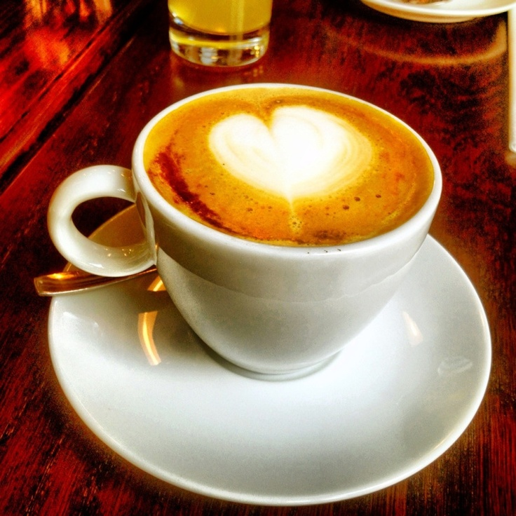 Deilig cappuccion fra Lippe #Latteart