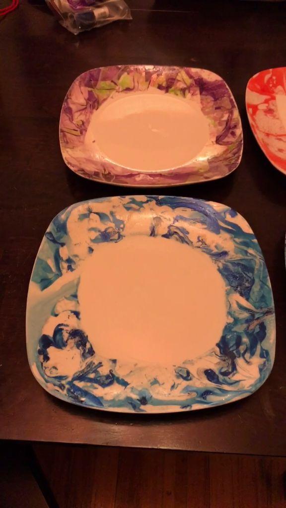 Nail Polish Plates Upcycle