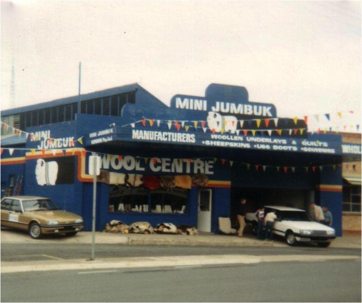 One of MiniJumbuk's first shop front in Naracoorte, SA.