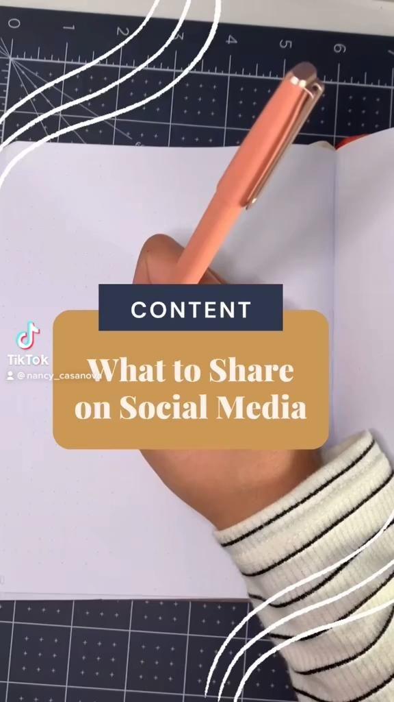 Video What To Share On Social Media Di 2021 Media Sosial Kreatif