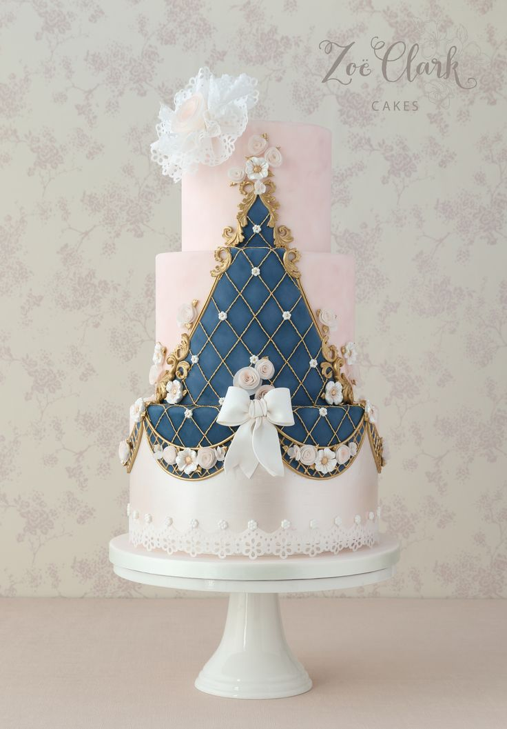 'Regal Rosettes for a Princess Cake' for Cakes and Sugarcraft magazine