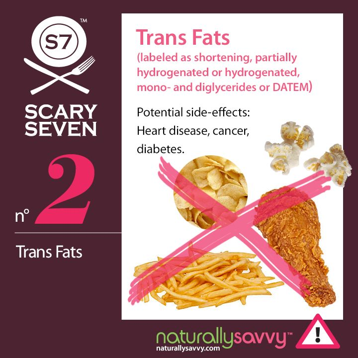 What foods contain trans fatty acids-9648