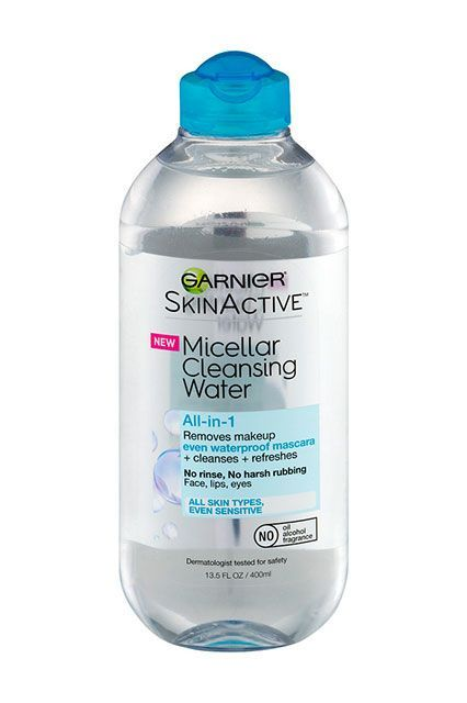 """Our Unfiltered Opinion On These Best-Selling Drugstore Buys #refinery29  http://www.refinery29.com/best-cvs-makeup-beauty-products-reviews#slide-9  """"I know most brands claim their micellar waters are gentle, yet effective, but I've definitely tried a handful that are way too harsh for my sensitive skin — and don't do squat against long-wearing makeup. This one from Garnier is the perfect balance: It's non-irritating (really), but potent enough to wash away my waterproof, liquid liner…"""