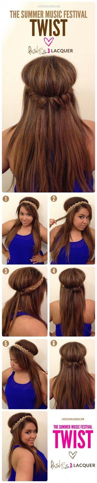 6 easy hair tutorial steps ever | Fashion World