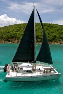 Sailing in the Virgin Islands