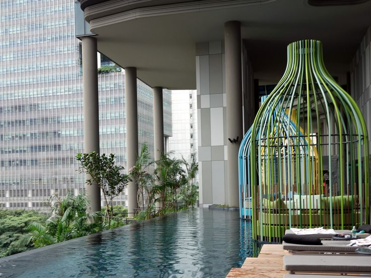Parkroyal on Pickering in Singapore.
