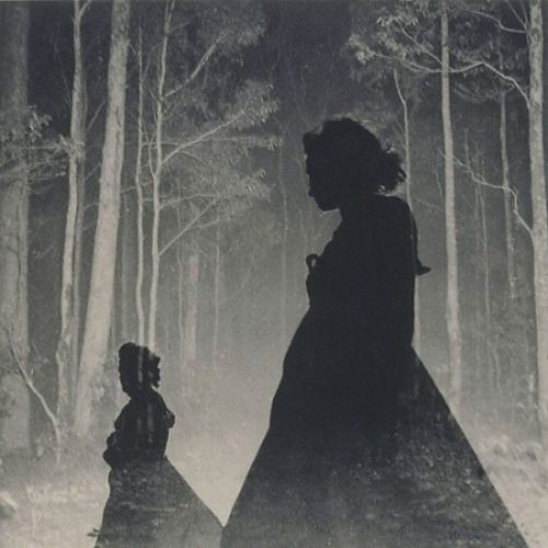 Max Dupain - Women silhouettes and trees, 1930svia