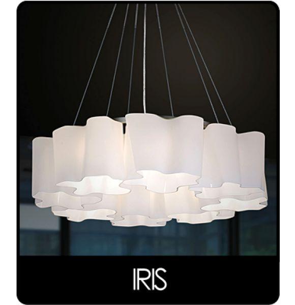 Lighting shop, contemporary pendant IRIS | About Space