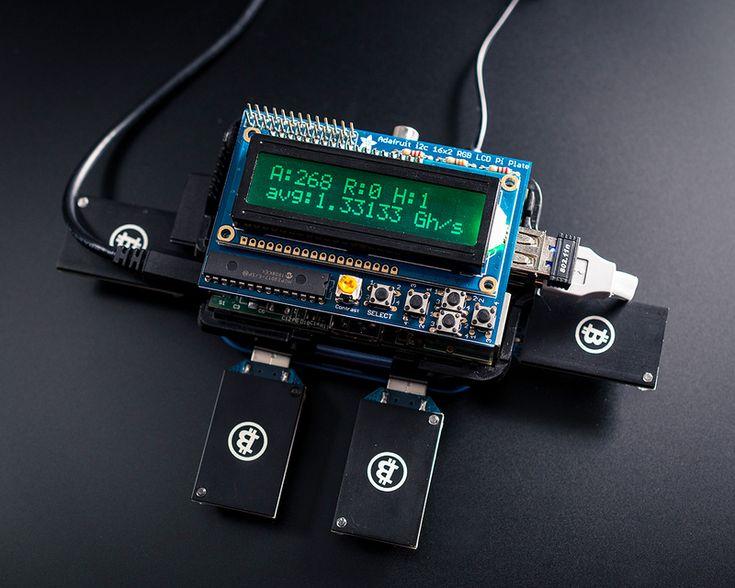 PiMiner: Raspberry Pi Bitcoin Miner - AdaFruit