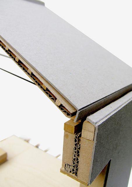 Architectural detail model, via Flickr.