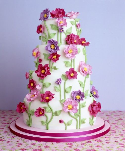 Edible Flowers For Cakes   Google Search