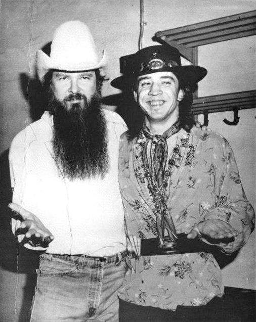 Billy Gibbons and SRV