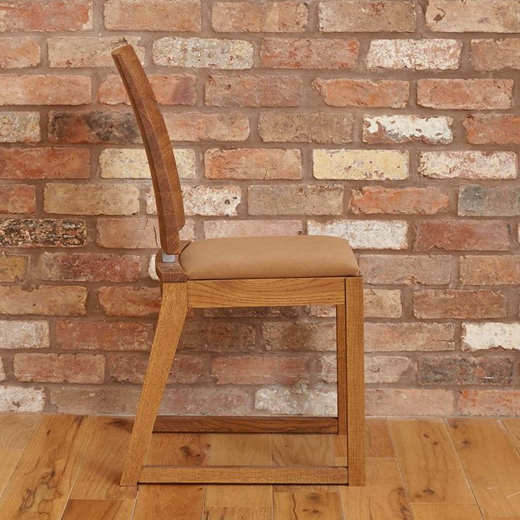 Olten - Cappuccino Dining Chair in Oak Finish - Set Of 2 -  - Dining Chair - Baumhaus - Space & Shape - 6