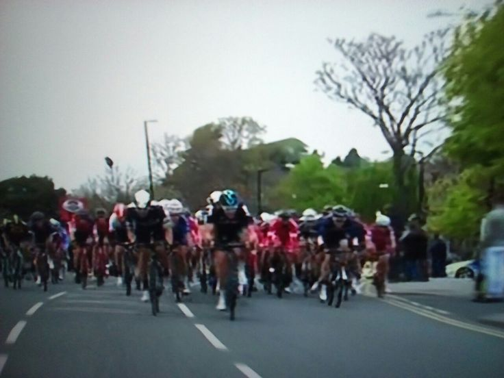 Ian Stannard SKY leading sprint to the last 9000m...stage 2