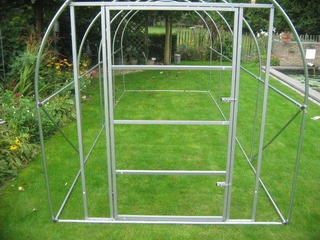 Rahmen mit Tür ideal für die Erstellung einer Voliere  3x2x2 m   Stehhöhe 2m  | eBay