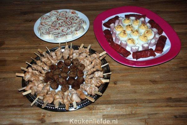 De allerlekkerste verjaardag hapjes - Keuken♥Liefde