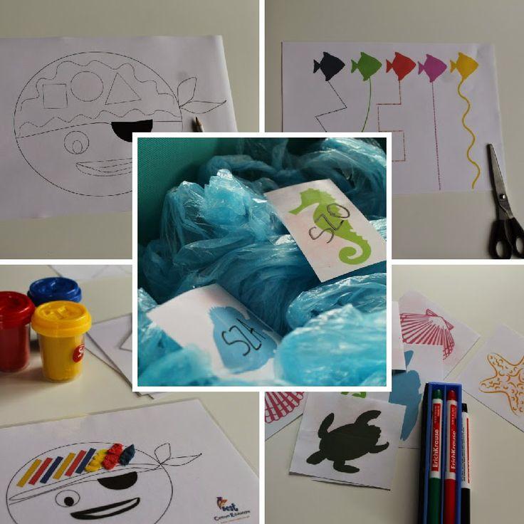Centrum Edukacyjne BEST: Piraci - ćwiczenia uzupełniające do pracy i zabawy w domu