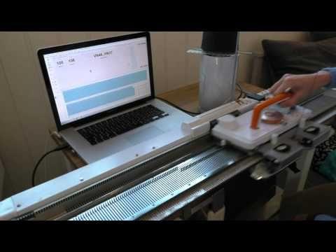 Hvordan DesignaKnit8 virker sammen med en SK280 - How DesignaKnit8 works...