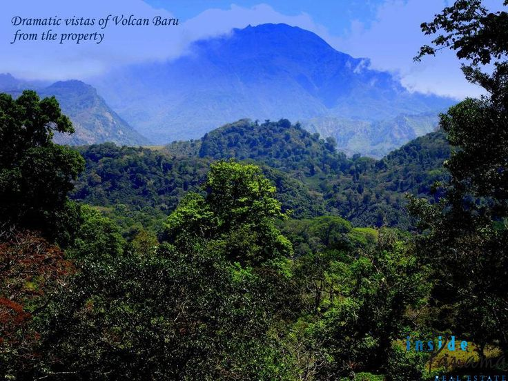 Unique 100 foot #Waterfall and Dramatic #MountainVistas on 3 Ha #Volcan #Panama http://insidepanamarealestate.com/100-foot-waterfall-mountain-3-ha-volcan-panama/?utm_content=bufferf3c6d&utm_medium=social&utm_source=pinterest.com&utm_campaign=buffer #insidepanamarealestate