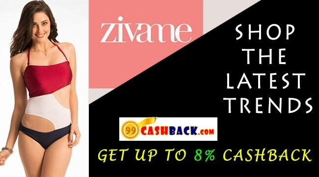 60 TO 80 % OFF WITH 8 % EXTRA CASHBACK ON ZIVAME BRA & BRIEFS