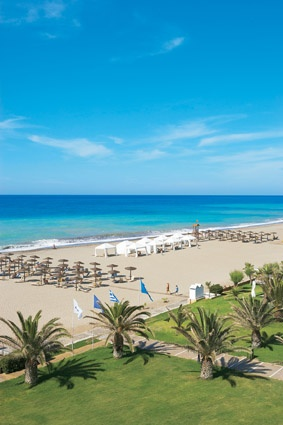 Creta Palace, Gorgeous sandy #beach #Rethymno