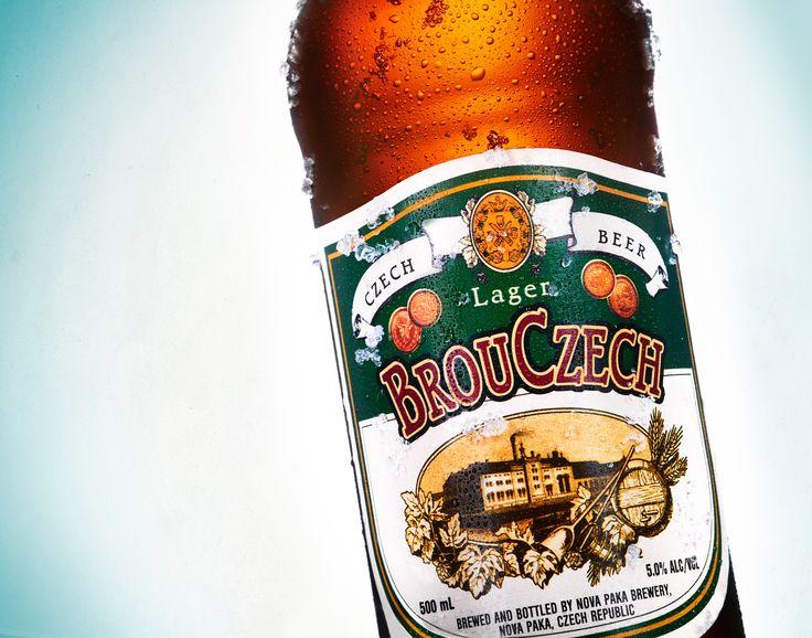 Novopacké pivo Brouczech.