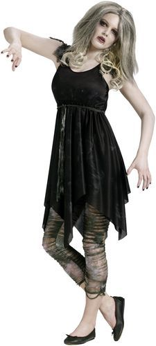 Wanna be the Scary Diva..!  Grab the Night Zombie Costume....