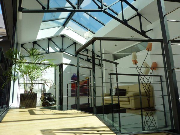 9 best Ferronnerie images on Pinterest Architecture, Canopy and - maison charpente metallique prix