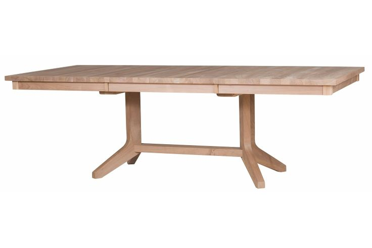 austin dining table in unfinished walnut dining tables pinterest