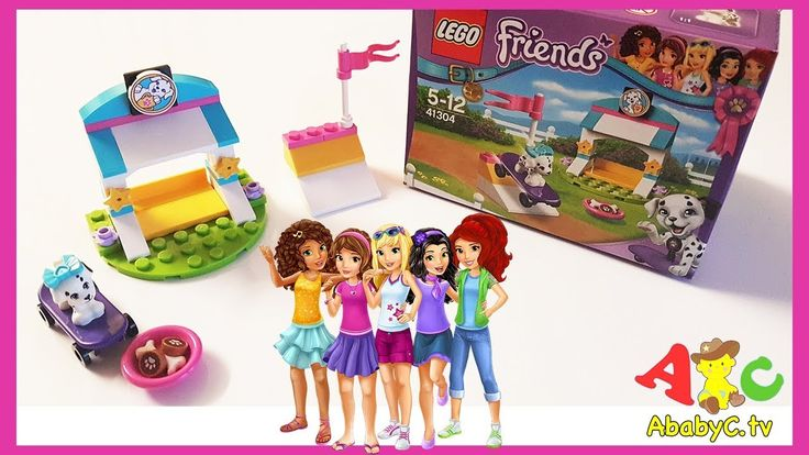 Lego Friends 41304 unboxing | Cookie toy for kids | Toys for girls| alph...