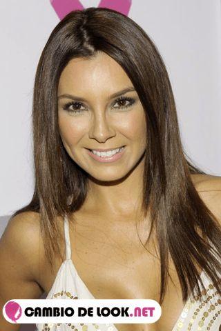 Elizabeth Gutierrez sin estar maquillada