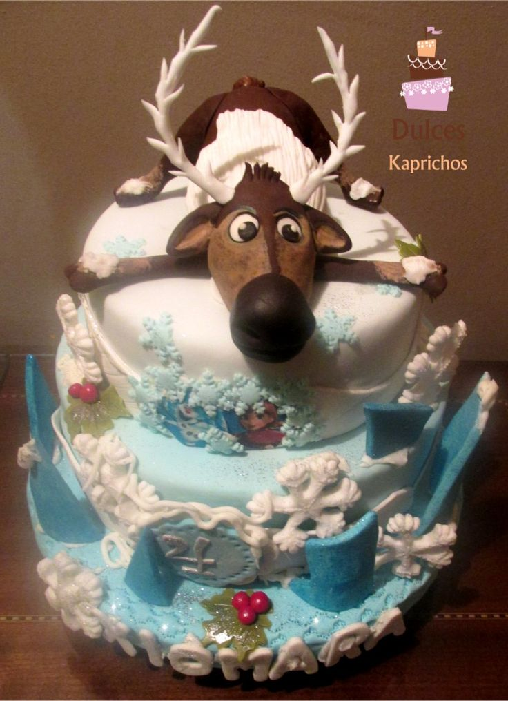 #TortaFrozen #DulcesKaprichos #TortasArtisticas #TortasDecoradas