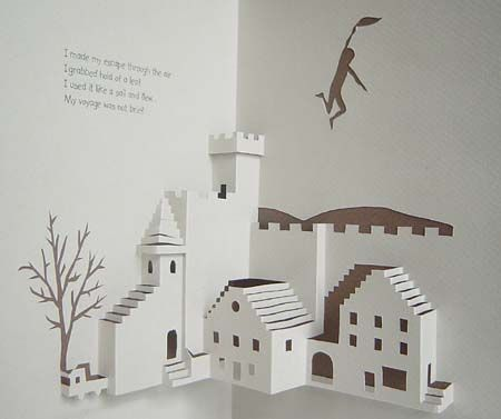 Libros Pop-Up Books Cards: Historia Poema ilustrado con hermosas Tarjetas Pop-Up