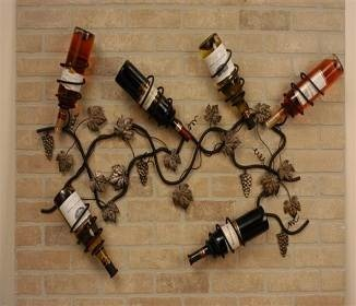 Decorative Wall Wine Rack 125 best cool wine racks images on pinterest | wine bottles, diy