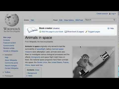 How To Make A Wikipedia Book