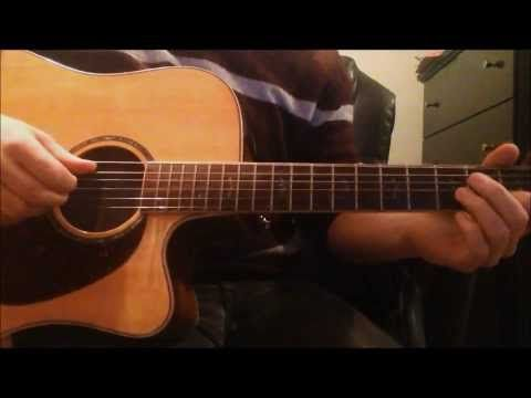 How to play Big black car - Gregory Alan Isakov Intermediate level acoustic(with play along) - YouTube