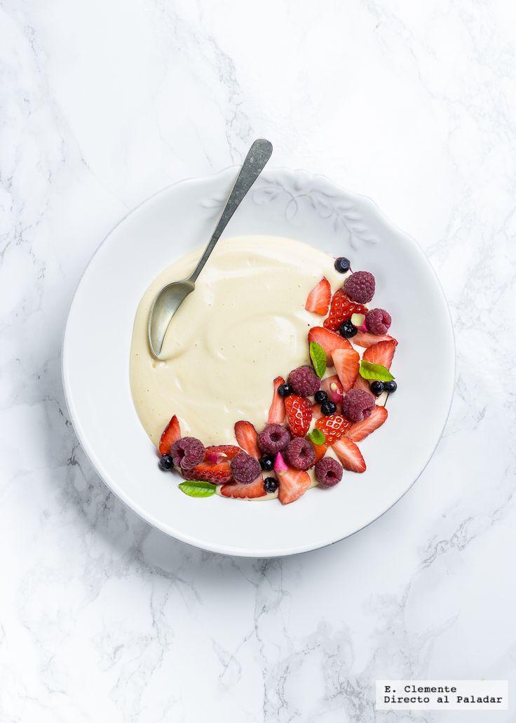Te explicamos paso a paso, de manera detallada, cómo hacer la receta de sabayón con frutos rojos. Tiempo de elaboración, ingredientes,
