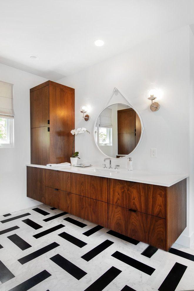 20 Imposing Mid-Century Modern Bathroom Designs Yo…