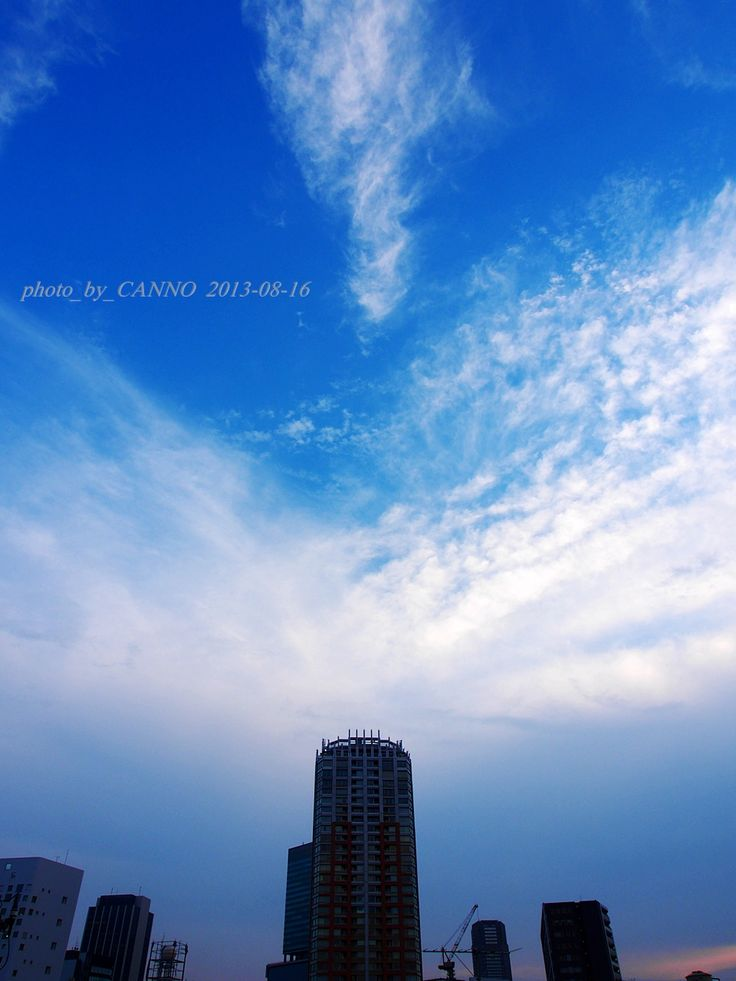 ★SILENCE #SORA_e #空絵:   LIFE  #空でつながる #Photo_by_Canno