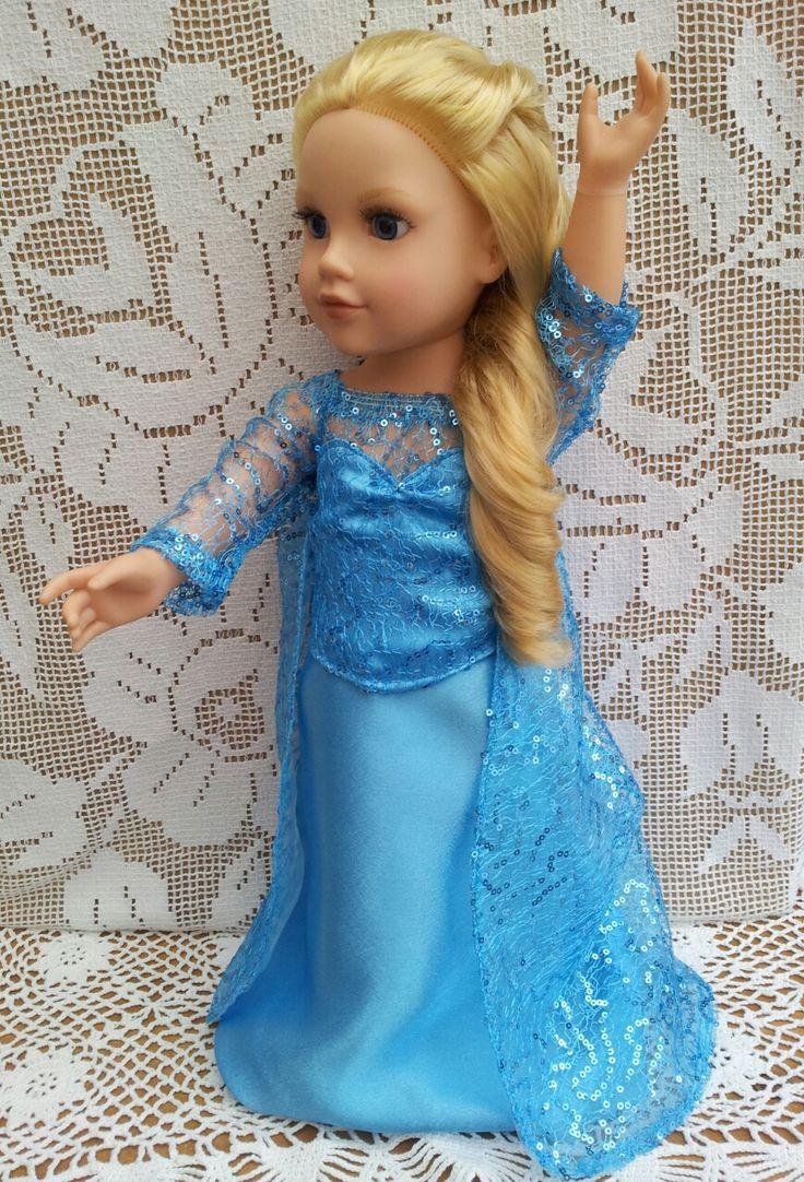 Like Princess Elsa Dresshttp://salstuffdolls.wordpress.com/hannah-gotz-and-poppy-designafriend/characters/