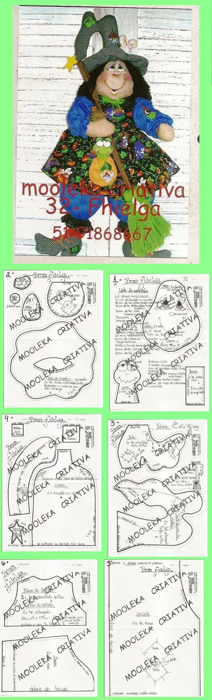 witch (sewing pattern)
